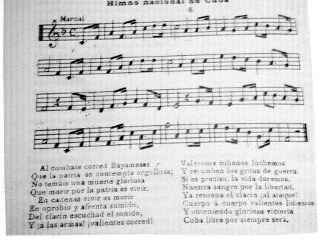 Cubaans volkslied, Cuba, taal, mensen, leven in Cuba